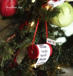 five homemade christmas tree ornaments