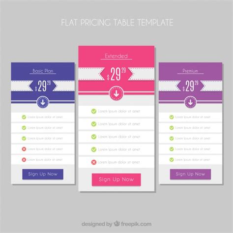web price plan banners vector free download web price plan banners vector free download