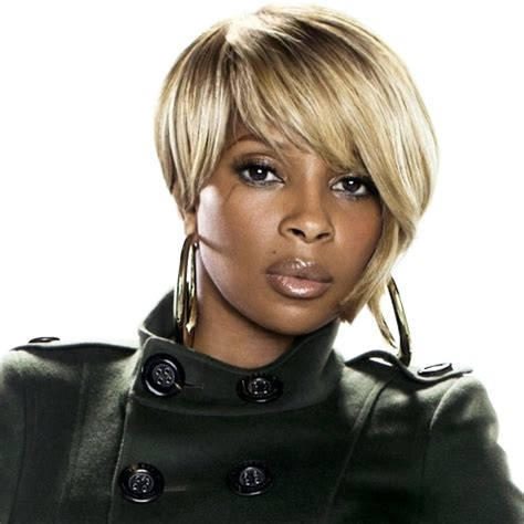 photos of black hairstyles mary j bliges sophisticated bob mary j blige a night to remember shalamar cover