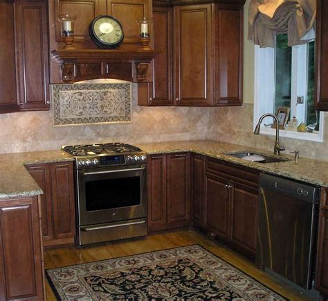 kitchen with backsplash kitchen backsplash design ideas feel the home