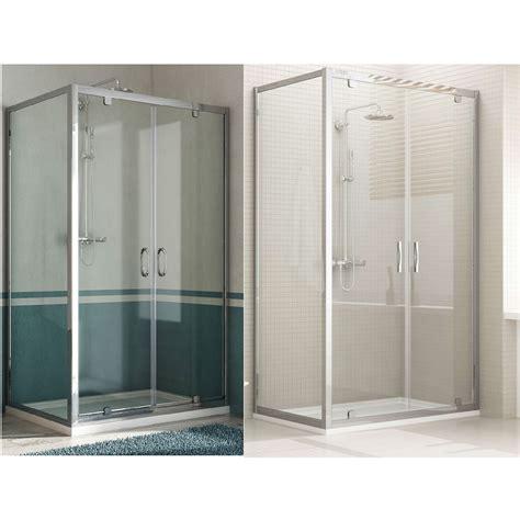 box doccia saloon box doccia doppia anta unica profilo alluminio h185 198