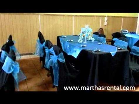 decoraciones de eventos de graduacin marthas rental decoracion y arreglos para fiestas youtube