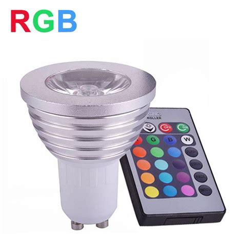 Gu10 Rgb Led Ls by Rgb Led L Spotlight 4w Gu10 Led Rgb Light 85 265v Led