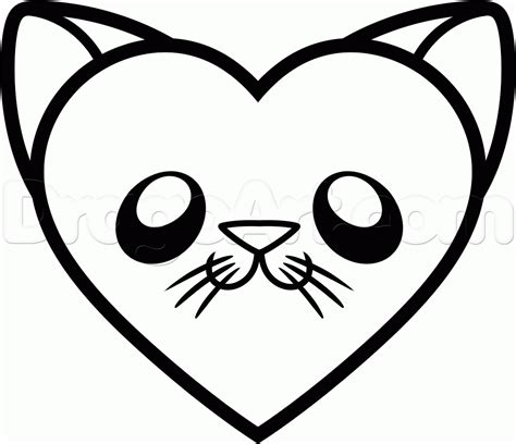 how to draw doodle cat 1 how to draw a cat step by step pets animals free