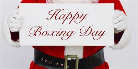beautiful girl wishing you happy boxing day