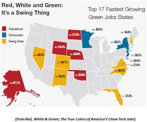 swing states definition could green jobs tip the 2012 presidential election