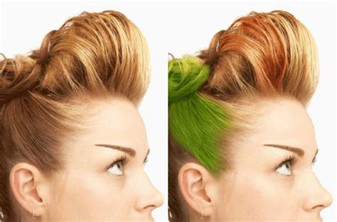 How To Change Hairstyle In Photoshop Touch by Change Hair Color In An Image With Photoshop Of How To