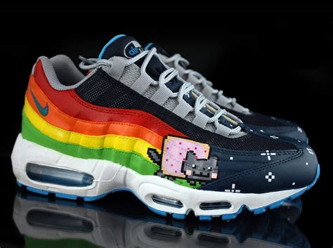 sneaker customizer nike air max 95 quot nyan cat quot by revive customs sneakernews