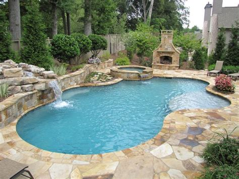 Images Of Backyards With Pools by 17 Best Ideas About Swimming Pools On Outdoor