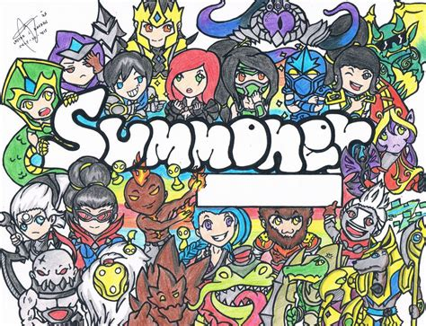 wallpaper doodle name doodle league of legends by lesterbayron on deviantart