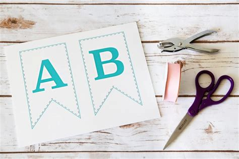 up letter to my baby free printable bunting banner just a and