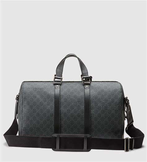 Gucci Duffle Bag lyst gucci gg supreme canvas carry on duffle bag in