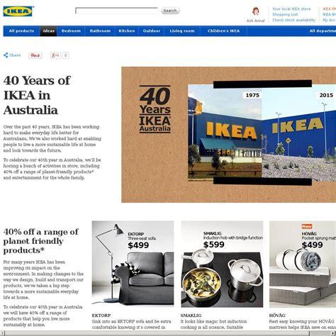 celebrate 40 years of ikea in australia brisbane ikea aus s 40th anniversary sale 25 off malm hemnes