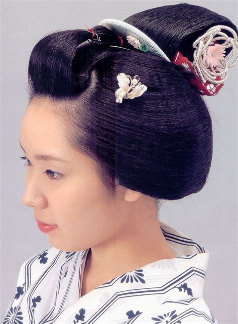 traditional japanese hairstyles how to do it 勝山 katsuyama traditional traditional japanese and