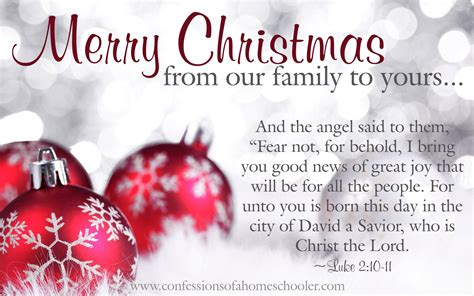 merry christmas   family   confessions   homeschooler