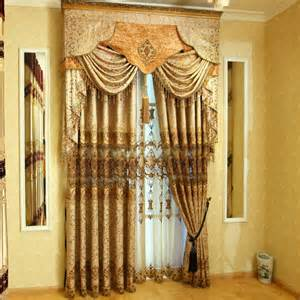 fancy curtains and drapes contemporary style curtains of fancy chenille jacquard fabric