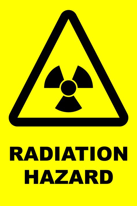 printable x ray radiation sign caution radiation logo www imgkid com the image kid