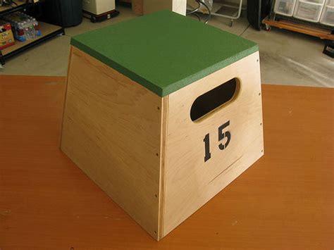 building plyometric boxes plyo boxes