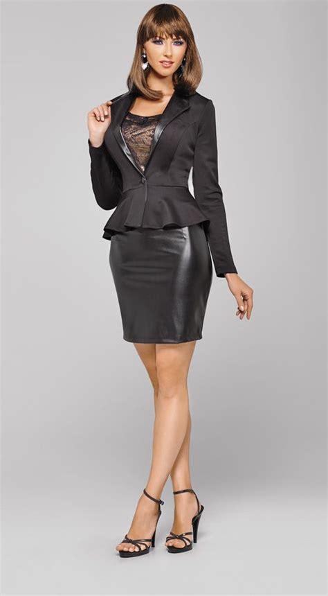 Feminine Dress With Jacket Set 2in1 Dress Jacket feminine peplum jacket jackets feminine and crossdressers