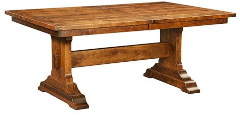 rustic dining table and bench amish rustic trestle dining table bench rectangle
