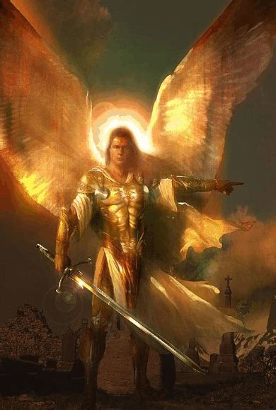 archangel michael     unstoppable force