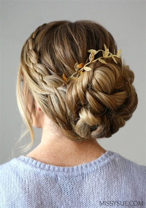 formal hairstyles out this four strand braid updo is elegant and formal a