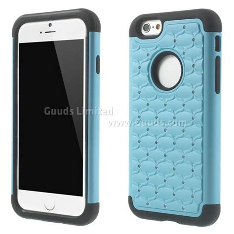 Hardcase Iphone 6g 4 7 Inch starry sky rhinestone pc silicone back cover for iphone