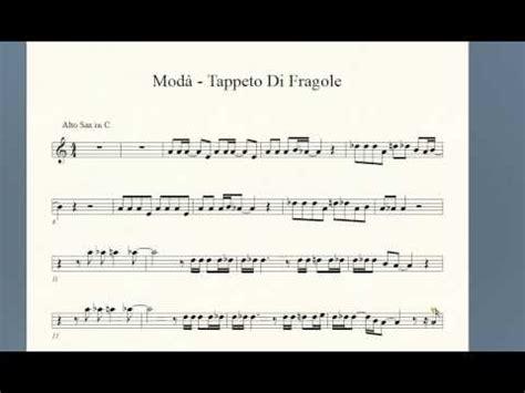 tappeto di fragole canzone score mod 224 tappeto di fragole