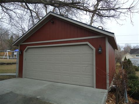 garage to garage detached garage builder utah wright s shed co
