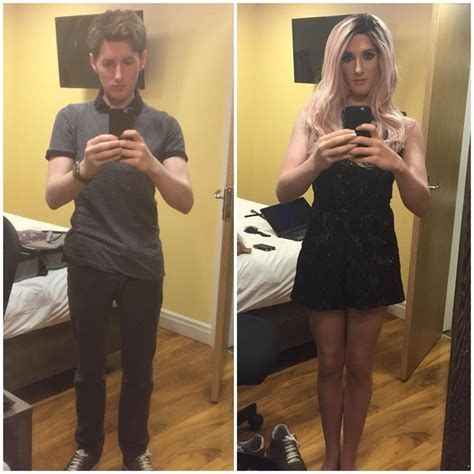 cross dressing before and after cross dressing before and after tumblr crossdressers