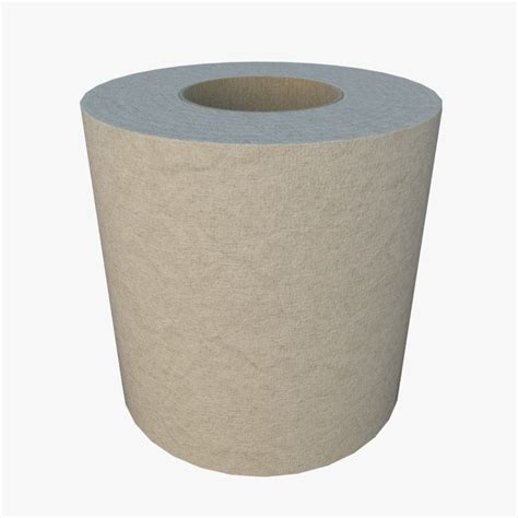toilet paper 3d toilet paper roll 3d obj