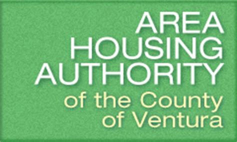 ventura county section 8 area housing authority of the county of ventura in california