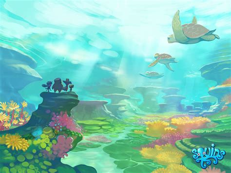 wallpaper underwater cartoon gallery underwater cartoon