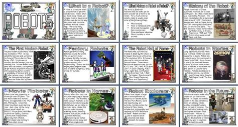 design technology teaching resources history robots