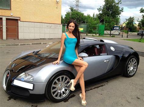 girly cars yulia adasheva bugatti and rr moments fashion trends
