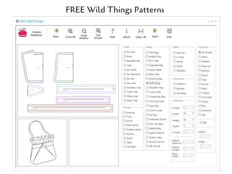 sewing pattern making software free free wild things