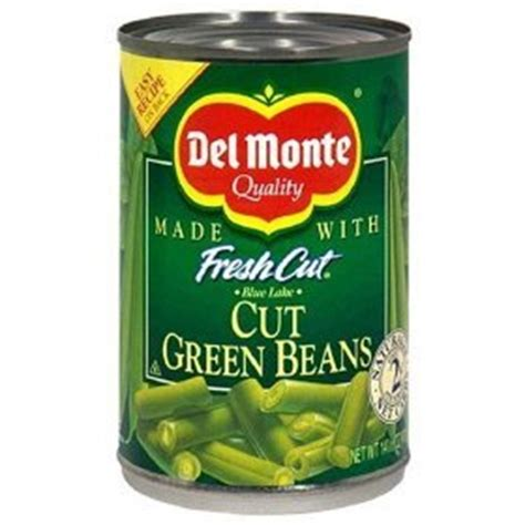 Shelf Of Green Beans by Monte Blue Lake Fresh Cut Green Beans 1 Can Of 14 Oz Green Beans Produce