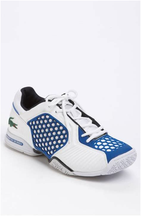 lacoste athletic shoes lacoste repel 2 tennis shoe in blue for white blue