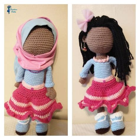 hijab doll pattern islamic faceless crochet dolls by umm maryam crochet