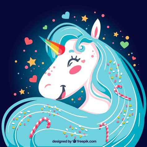 imagenes de unicornios fondos fondo de unicornio feliz brillante descargar vectores gratis