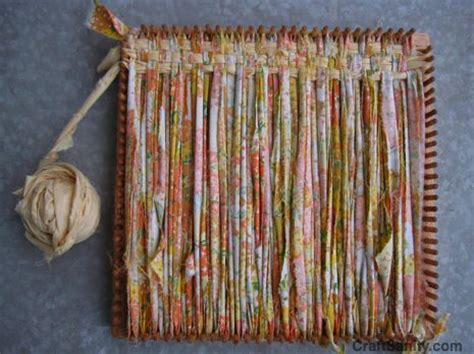 Rag Rug Weaving On A Loom Craftsanity A Blog And Podcast For Those Who Love