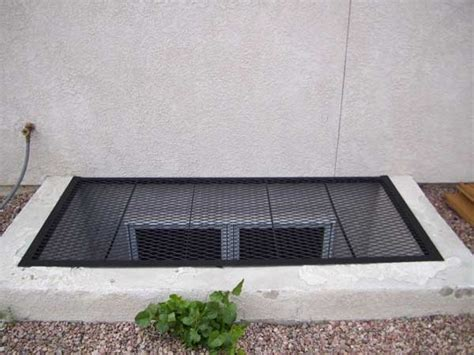 egress window well grate cover for the home