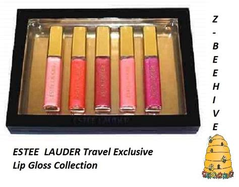Estee Lauder Travel Exclusive bnib estee lauder travel exclusive lip gloss collection