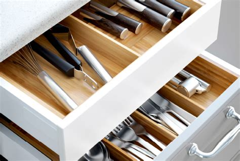 Kitchen Cupboard Interior Storage by Kitchen Drawer Organizers Ikea