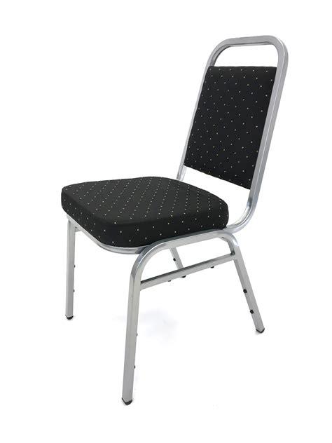 used black banquet chairs ex hire black banquet chair silver aluminium be