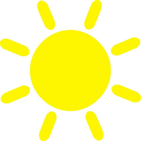 gelbe sonne clipart yellow sun icon