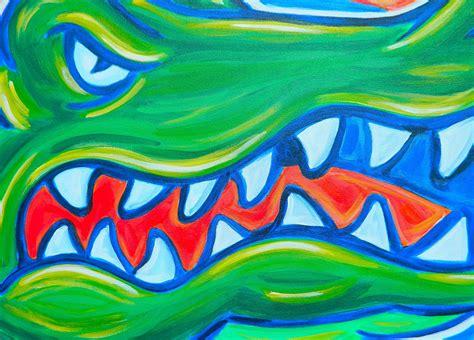 canva uf florida gators painting sports art college