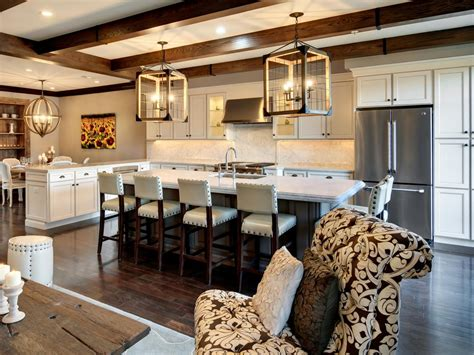 Great Room Kitchen Designs Spacious Country Townhouse Ani Semerjian Hgtv
