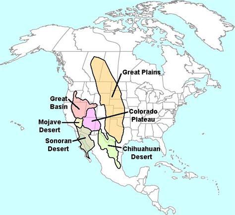 map us deserts american drylands abundant desert