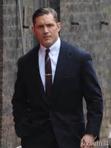 Photos tom hardy shoots legend in london with co stars